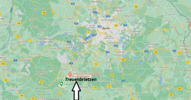 Wo liegt Treuenbrietzen
