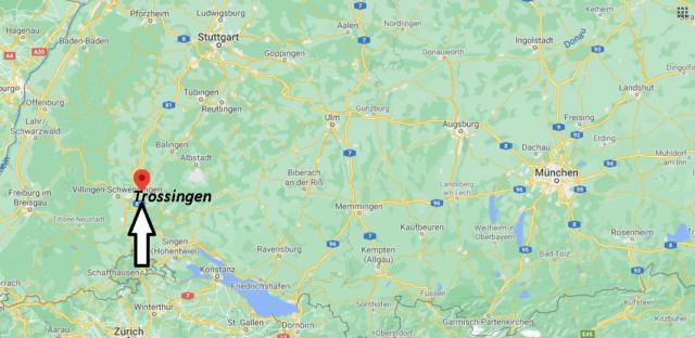 Wo liegt Trossingen