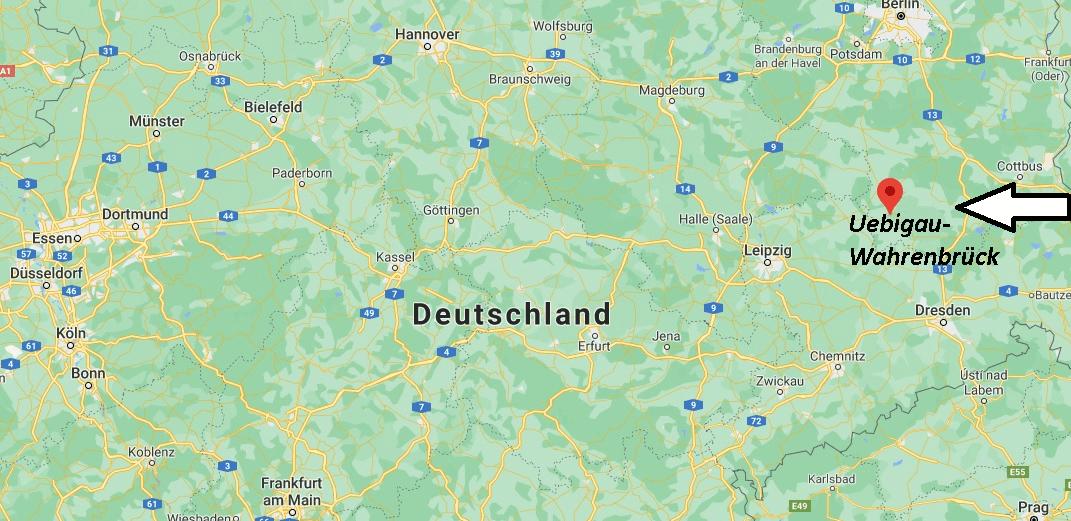 Wo liegt Uebigau-Wahrenbrück