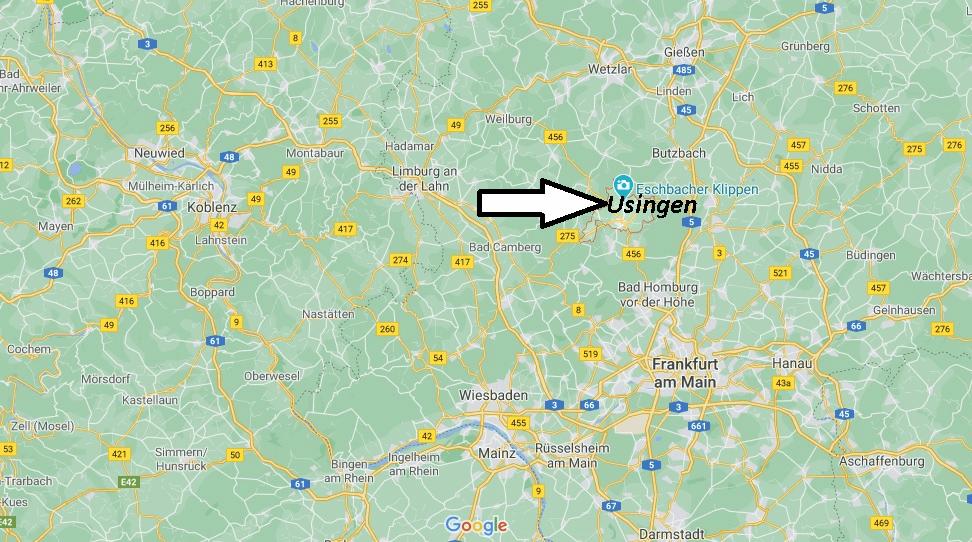 Wo liegt Usingen