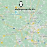 Wo liegt Vaihingen an der Enz