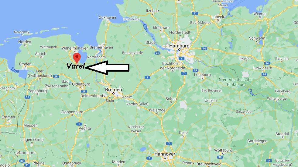 Wo liegt Varel