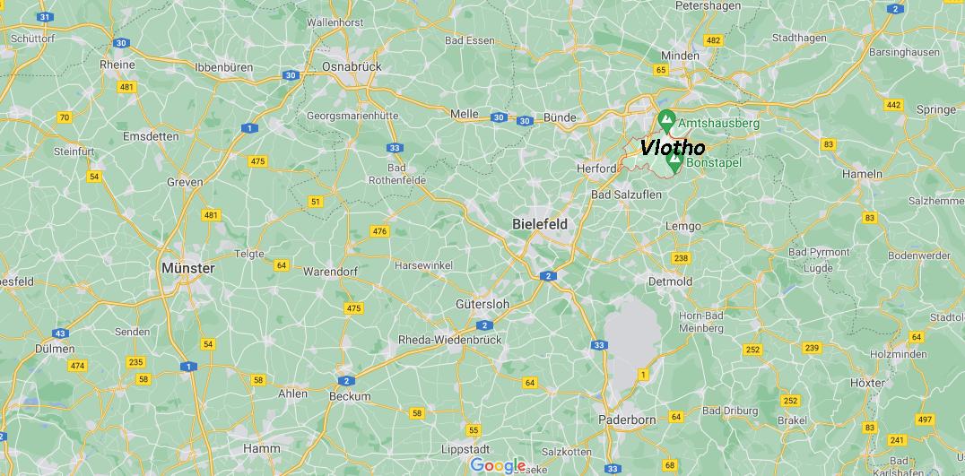 In welchem Bundesland ist Vlotho