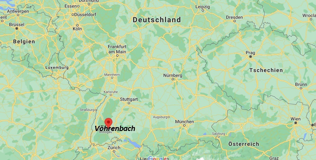In welchem Bundesland ist Vöhrenbach