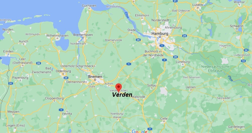 In welchem Bundesland liegt Verden
