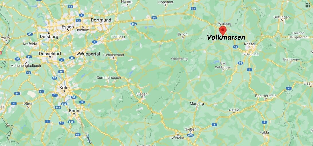 In welchem Bundesland liegt Volkmarsen