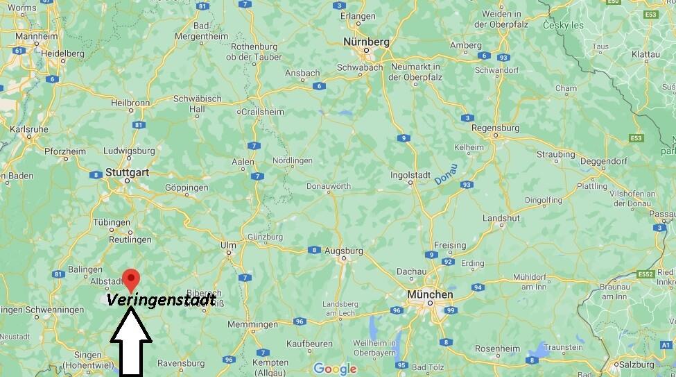 Wo ist Veringenstadt (Postleitzahl 72519)