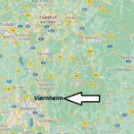 Wo ist Viernheim (Postleitzahl 68519)
