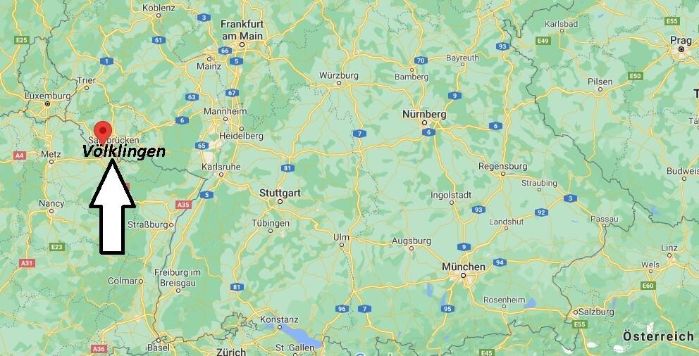 In welchem Bundesland liegt Völklingen