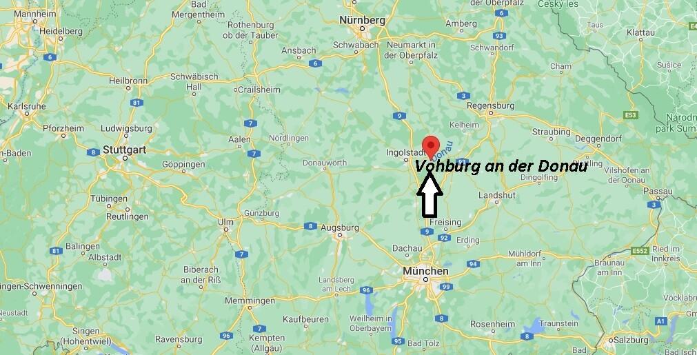 In welchem Bundesland ist Vohburg an der Donau