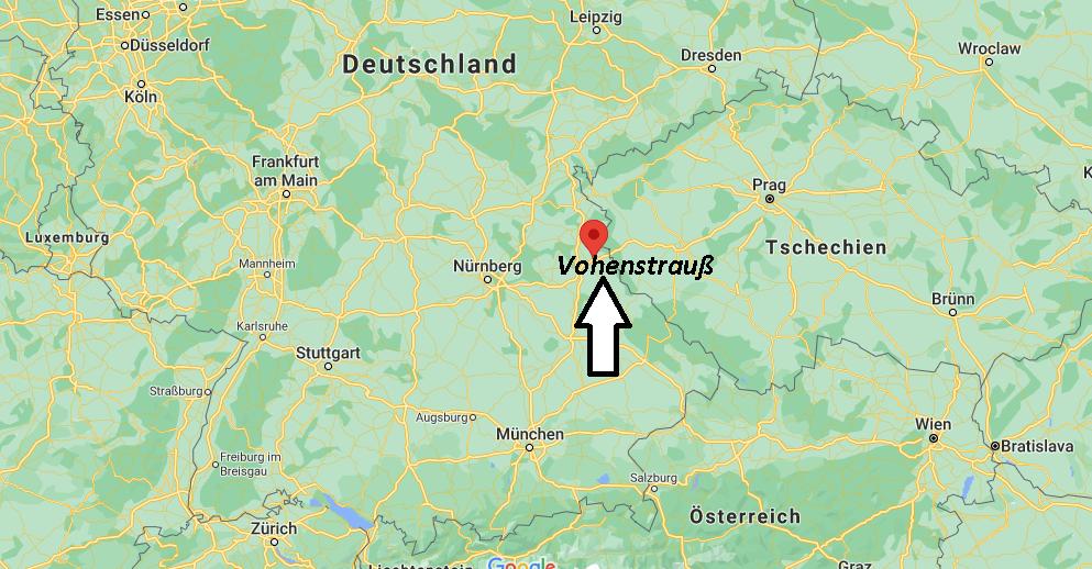 Wo ist Vohenstrauß (Postleitzahl 92648)