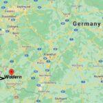 Wo ist Wadern (Postleitzahl 66887)