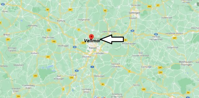 Wo liegt Vellmar