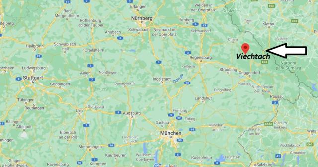 Wo liegt Viechtach