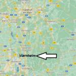 Wo liegt Viernheim