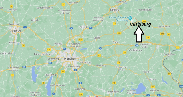 Wo liegt Vilsbiburg