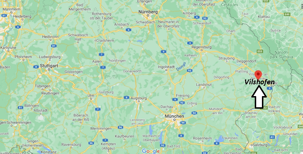 Wo liegt Vilshofen