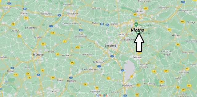 Wo liegt Vlotho