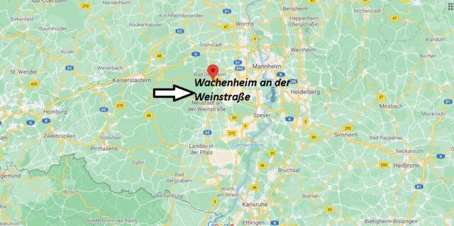 Wo liegt Wachenheim an der Weinstraße
