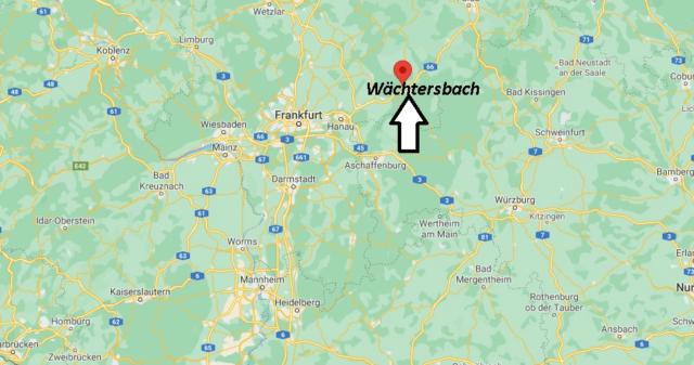 Wo liegt Wächtersbach