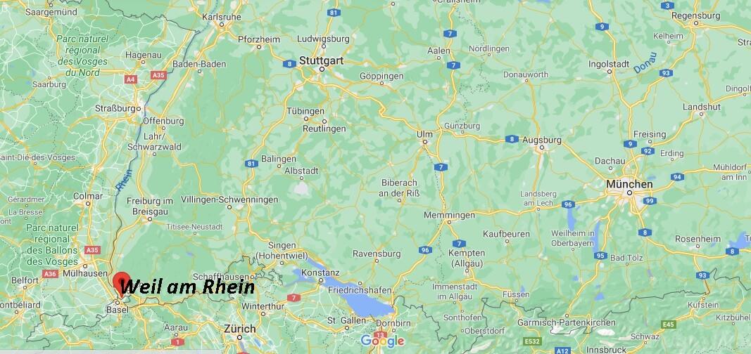 In welchem Bundesland ist Weil am Rhein
