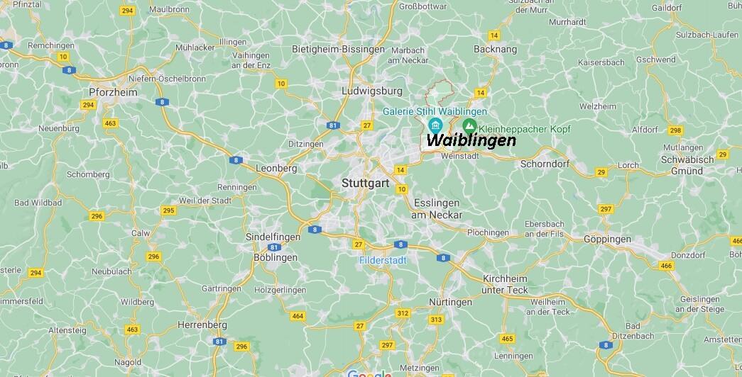 In welchem Bundesland liegt Waiblingen
