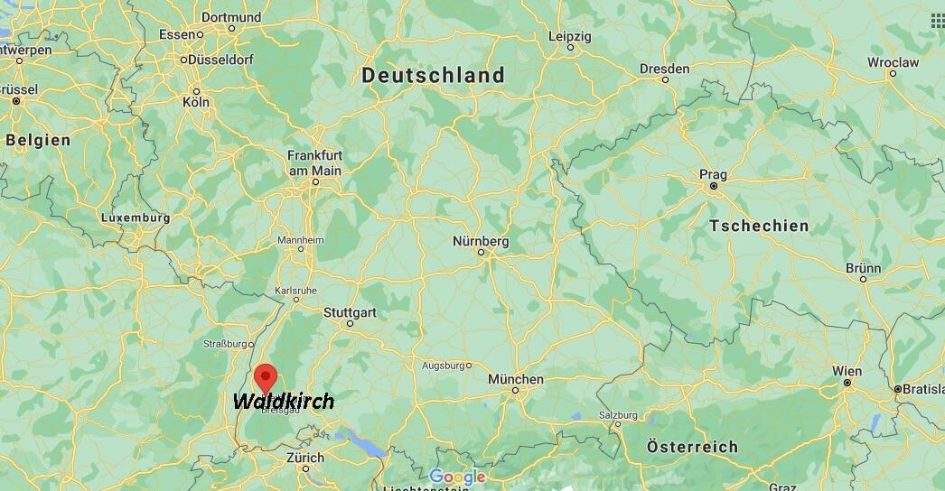 In welchem Bundesland liegt Waldkirch