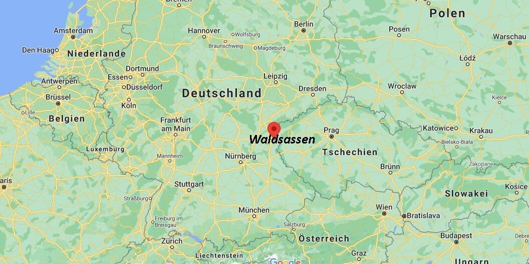 In welchem Bundesland liegt Waldsassen