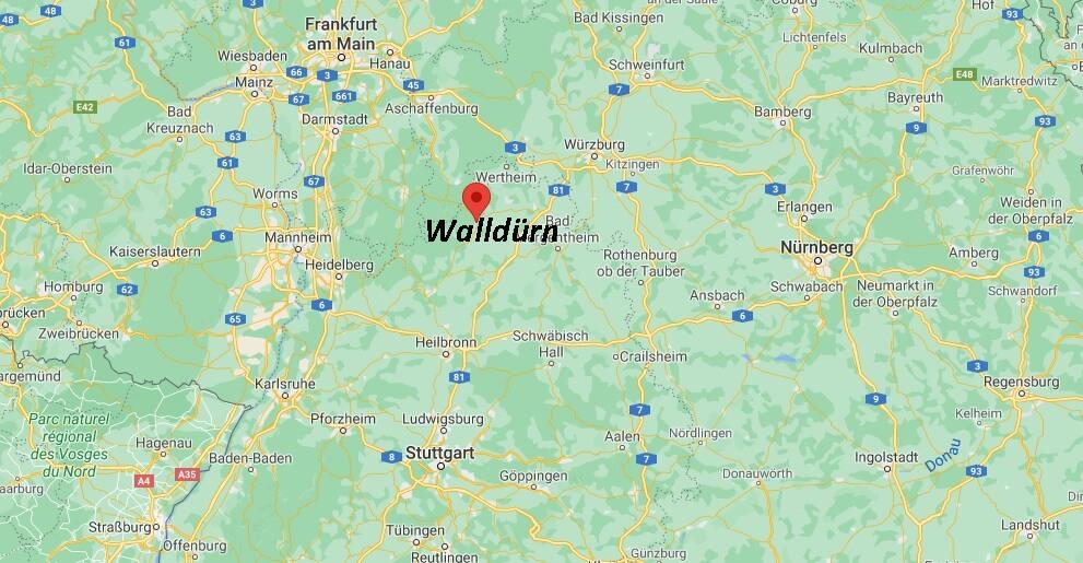 In welchem Bundesland liegt Walldürn