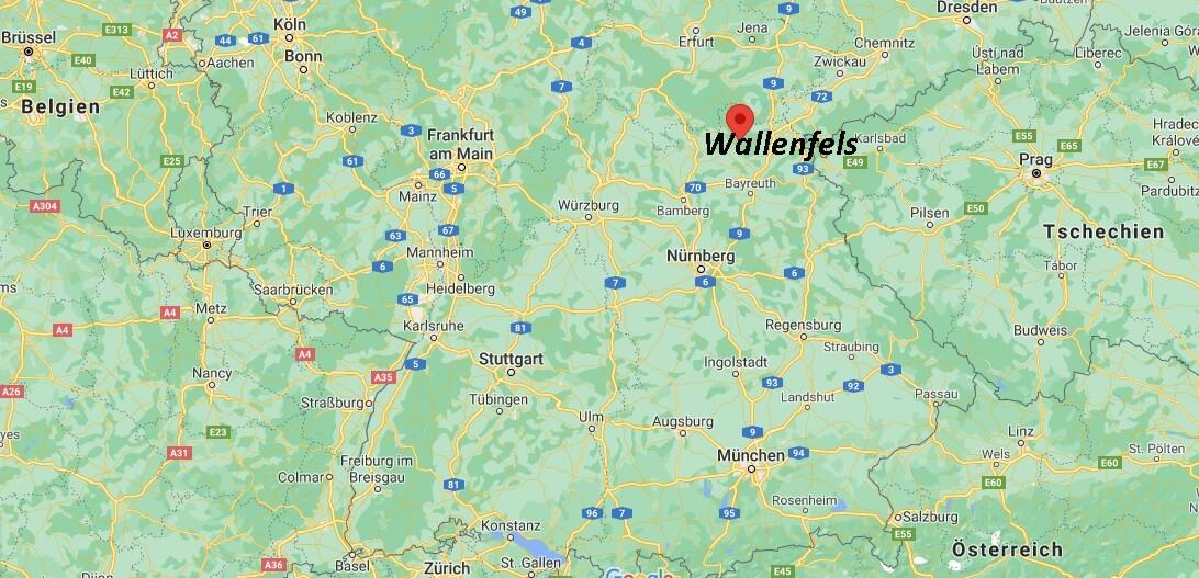 In welchem Bundesland liegt Wallenfels
