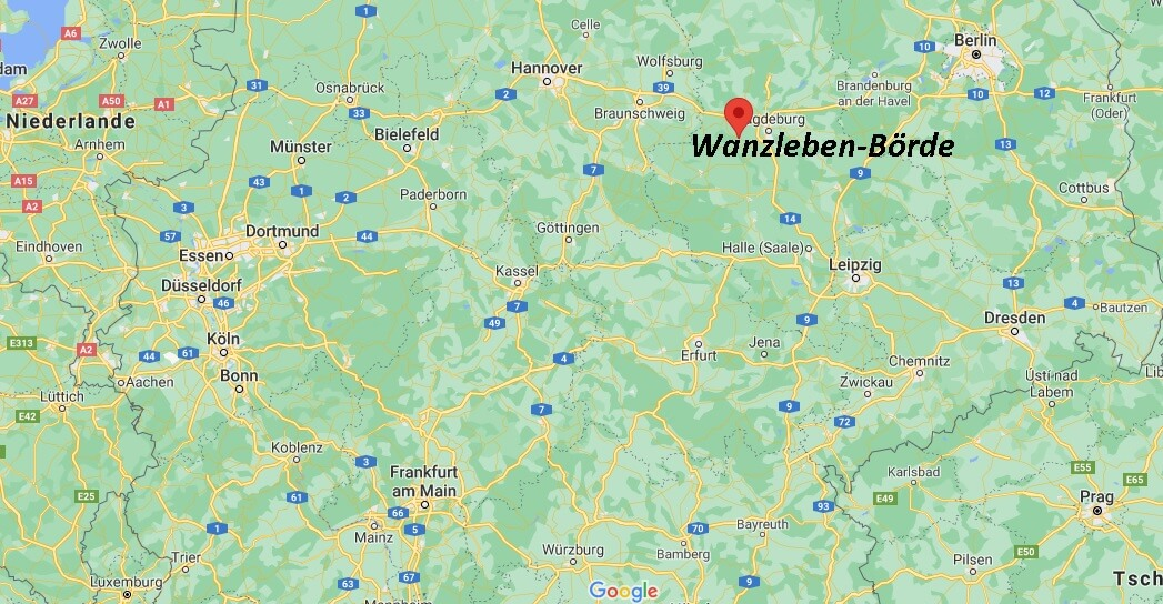 In welchem Bundesland liegt Wanzleben-Börde
