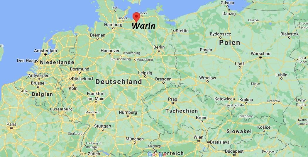 In welchem Bundesland liegt Warin