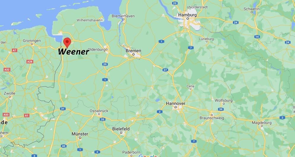 In welchem Bundesland liegt Weener