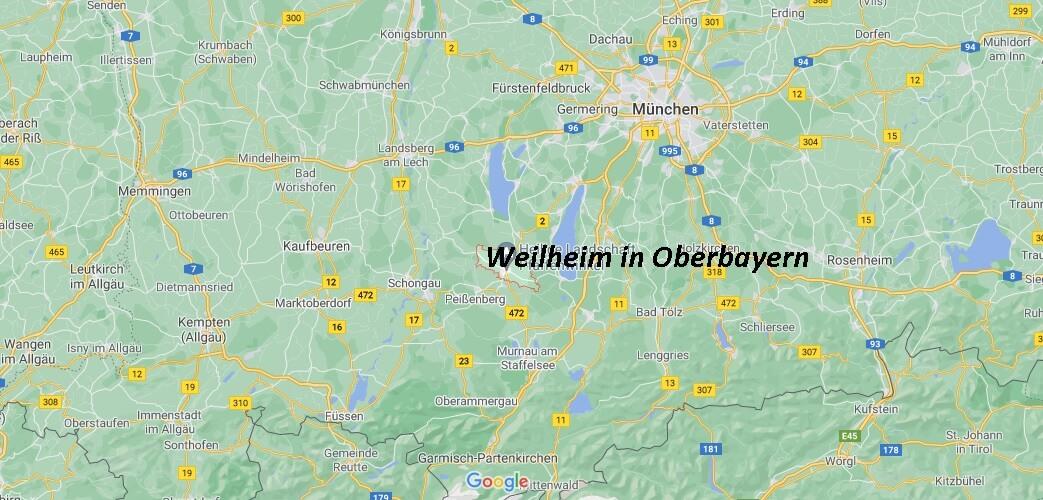 In welchem Bundesland liegt Weilheim in Oberbayern