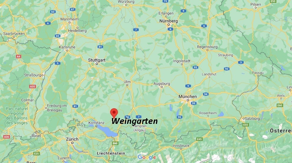 In welchem Bundesland liegt Weingarten