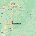 In welchem Bundesland liegt Weinheim