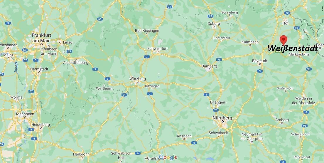 In welchem Bundesland liegt Weißenstadt