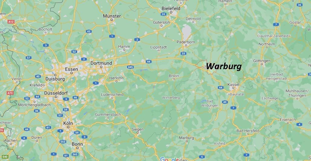 In welchem Land liegt Warburg