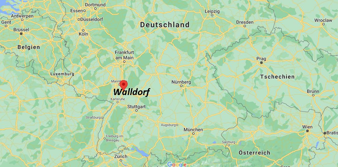 In welchem Bundesland liegt Walldorf