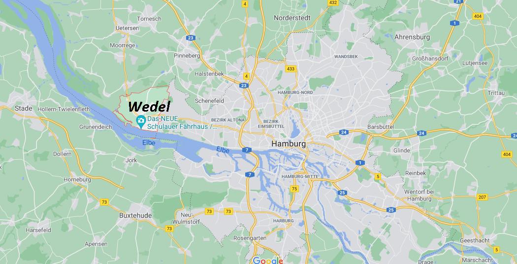 In welchem Bundesland liegt Wedel