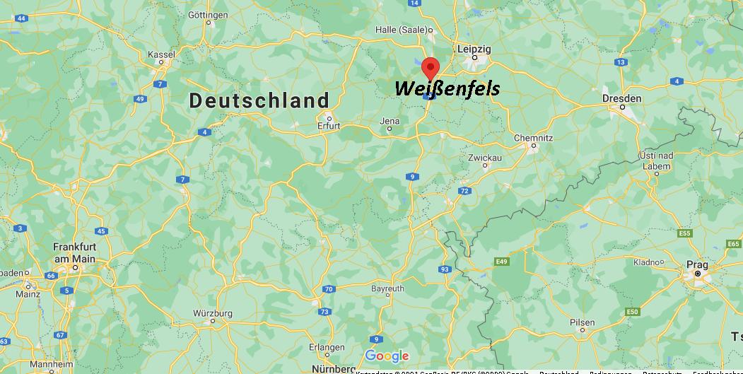 In welchem Bundesland liegt Weißenfels