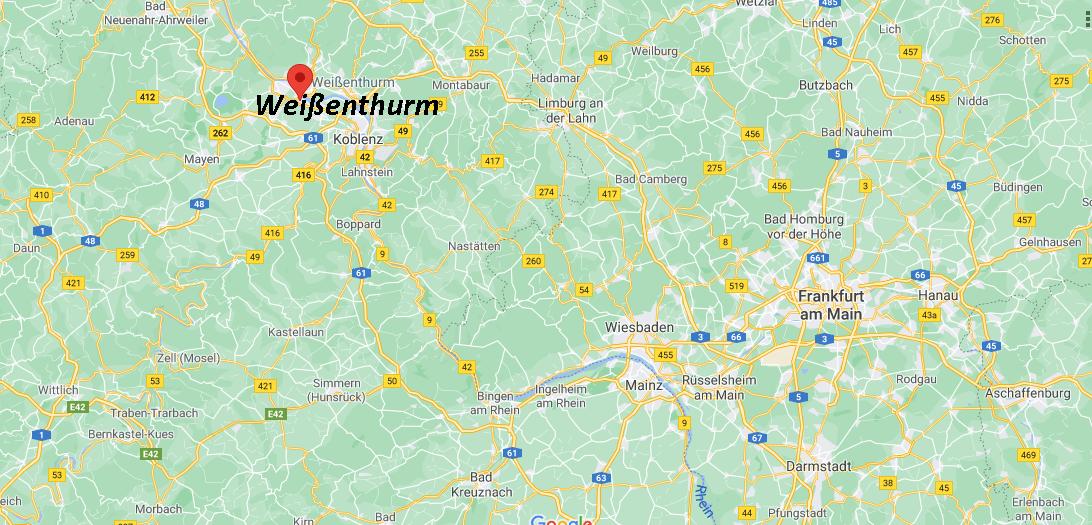 In welchem Bundesland liegt Weißenthurm