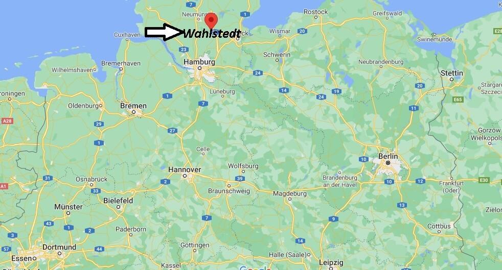 Wo ist Wahlstedt (Postleitzahl 23812)
