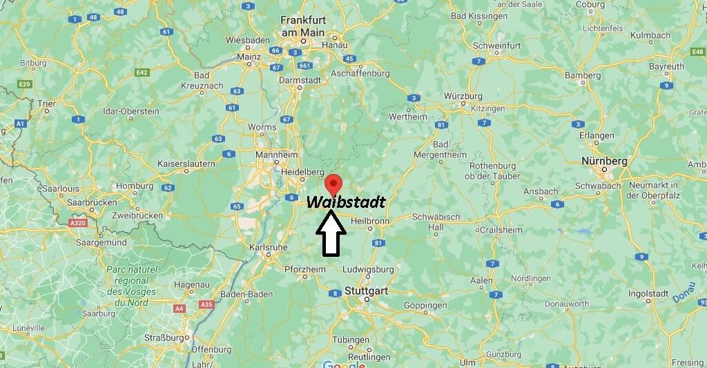 In welchem Bundesland liegt Waibstadt