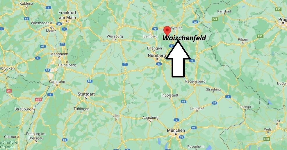 Wo ist Waischenfeld (Postleitzahl 91344)