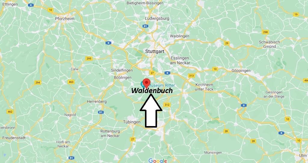 In welchem Bundesland liegt Waldenbuch