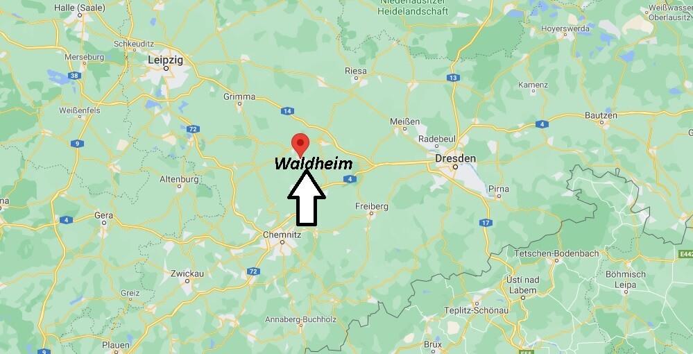 In welchem Bundesland liegt Waldheim