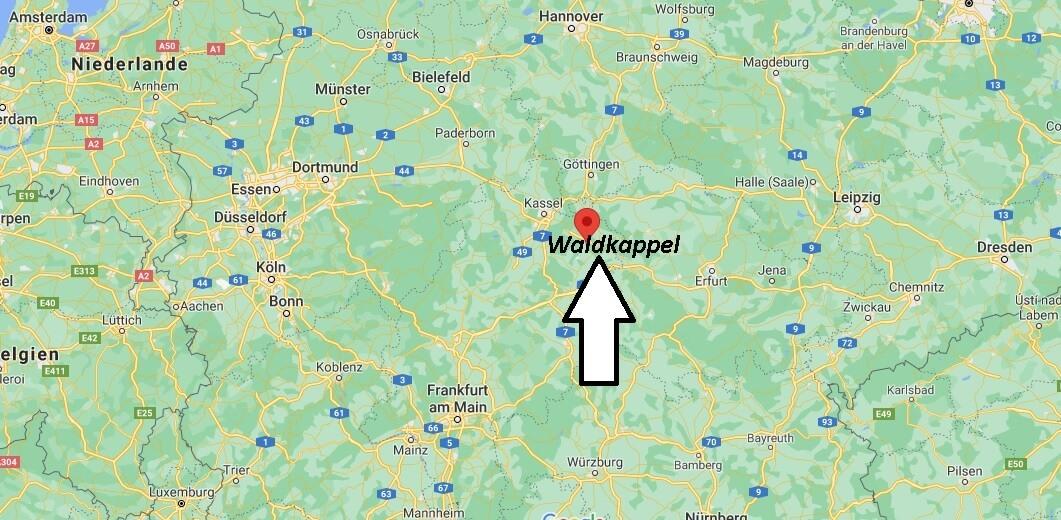 In welchem Bundesland liegt Waldkappel
