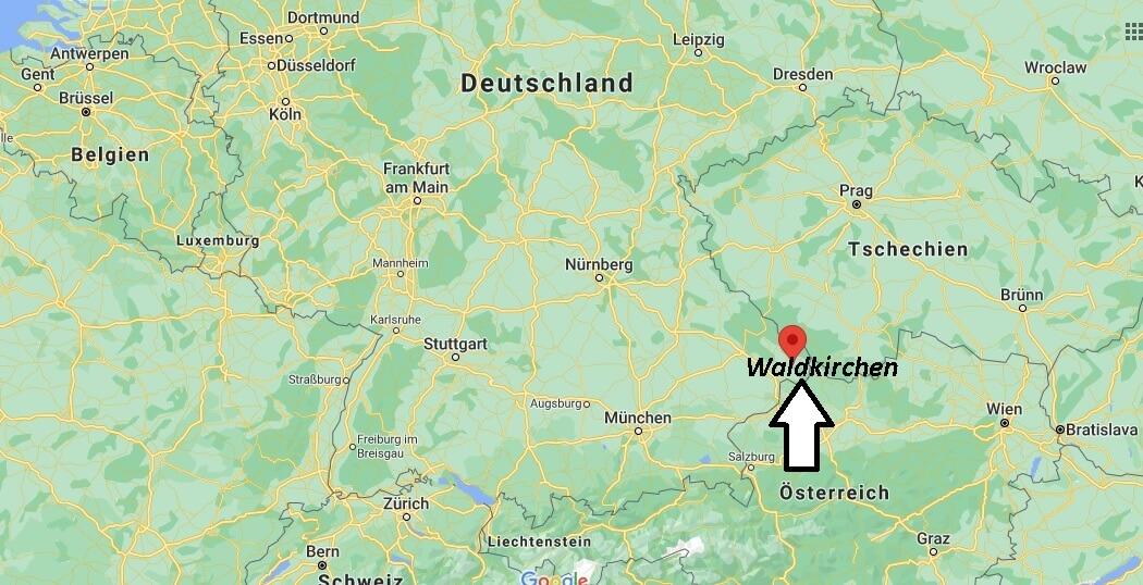 Wo ist Waldkirchen (Postleitzahl 94065)