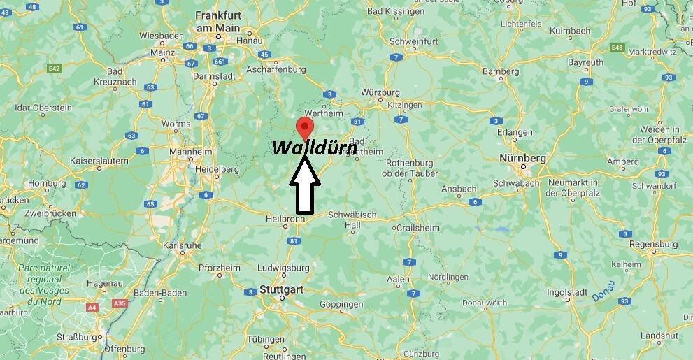 Wo ist Walldürn (Postleitzahl 74731)
